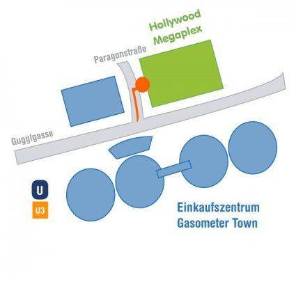 Anfahrtsplan Notebook Service Wien
