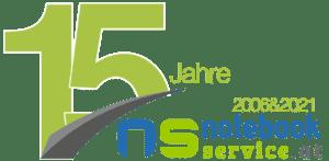 15 Jahre Notebook Service - Logo